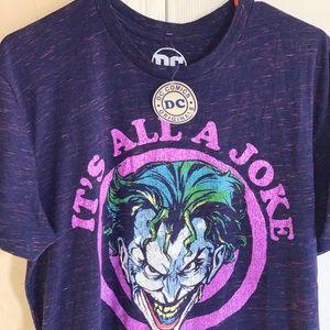 Joker dc comics t shirt